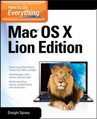 How to Do Everything Mac OS X Lion Edition (BOK)