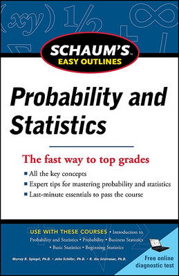 Schaum's Easy Outline of Probability and Statistics (BOK)