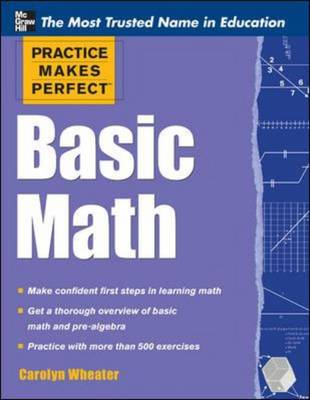 Practice Makes Perfect Basic Math (BOK)