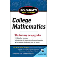 Schaum's Easy Outline of College Mathematics (BOK)