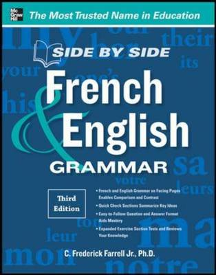 Side-By-Side French and English Grammar (BOK)