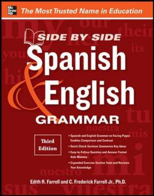 Side-by-side Spanish and English Grammar (BOK)