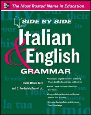 Side by Side Italian and English Grammar (BOK)