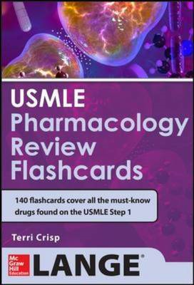 USMLE Pharmacology Review Flash Cards (BOK)
