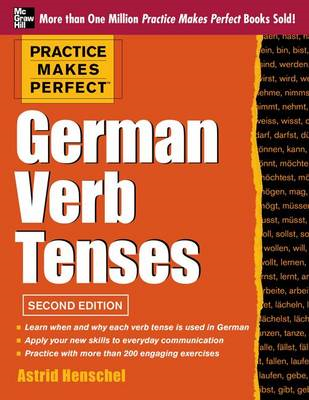 Practice Makes Perfect German Verb Tenses (BOK)
