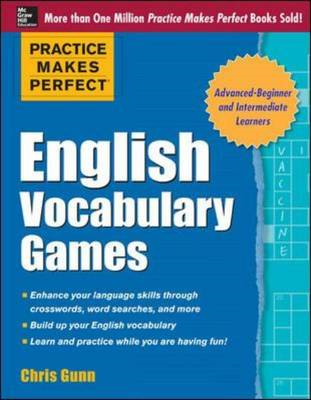 Practice Makes Perfect English Vocabulary Games (BOK)