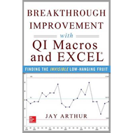 Breakthrough Improvement with QI Macros and Excel: Finding t (BOK)