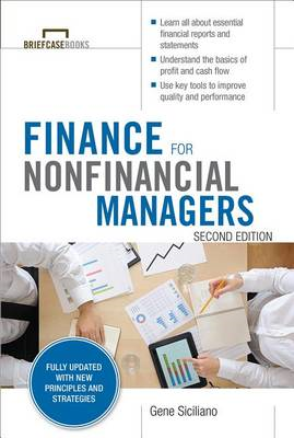 Finance for Nonfinancial Managers (BOK)