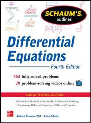 Schaum's Outline of Differential Equations (BOK)