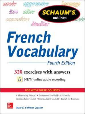 Schaum's Outline of French Vocabulary (BOK)