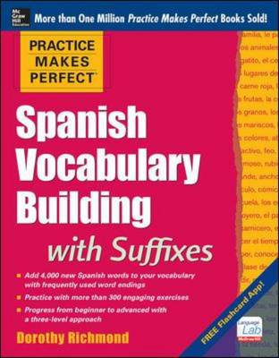 Practice Makes Perfect Spanish Vocabulary Building with Suff (BOK)