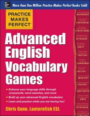 Practice Makes Perfect Advanced English Vocabulary Games (BOK)