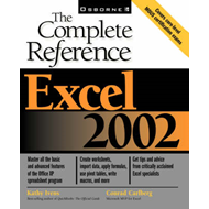 Excel 2002: The Complete Reference (BOK)