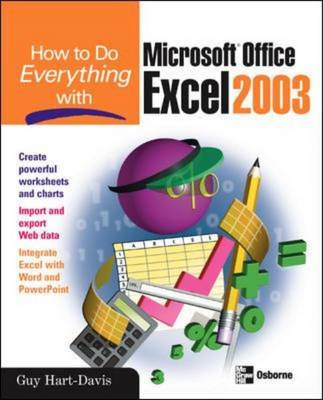 How to Do Everything with Microsoft Office Excel 2003 (BOK)