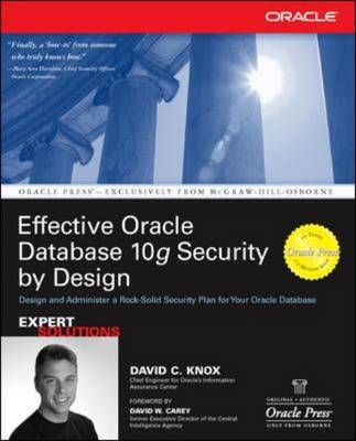 Effective Oracle Databases 10g Security by Design (BOK)