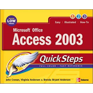 Microsoft Office Access 2003 QuickSteps (BOK)