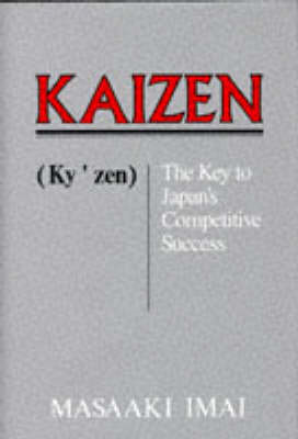 Kaizen: The Key to Japan's Competitive Success (BOK)
