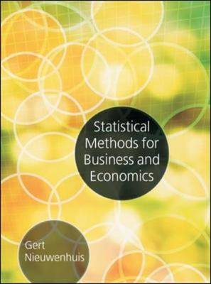 Statistical Methods for Business and Economics (BOK)