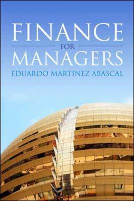Finance for Managers (BOK)
