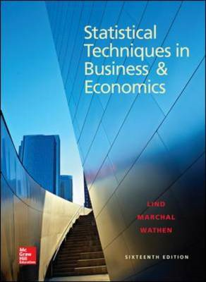 Statistical Techniques in Business and Economics (BOK)