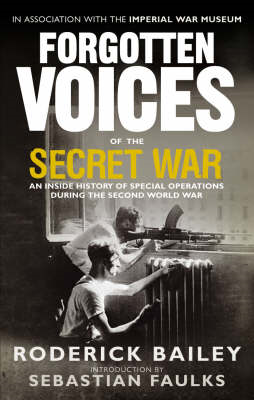 Forgotten Voices of the Secret War (BOK)