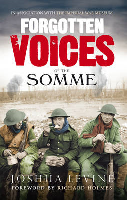 Forgotten Voices of the Somme (BOK)