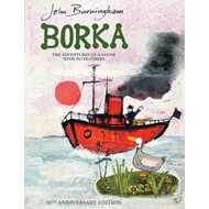 Produktbilde for Borka: The Adventures of a Goose With No Feathers (BOK)