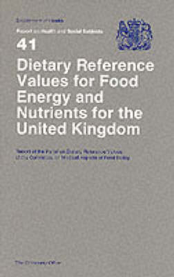 Dietary Reference Values of Food Energy and Nutrients for th (BOK)