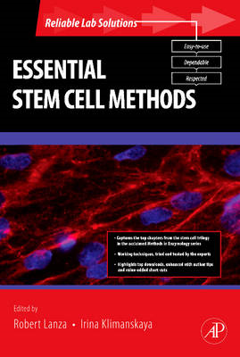 Essential Stem Cell Methods (BOK)