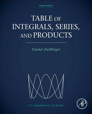 Table of Integrals, Series, and Products (BOK)