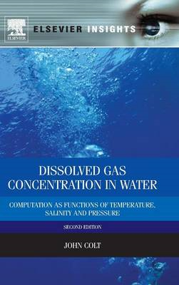 Dissolved Gas Concentration in Water: Computation as Functions of Temperature, Salinity and Pressure (BOK)