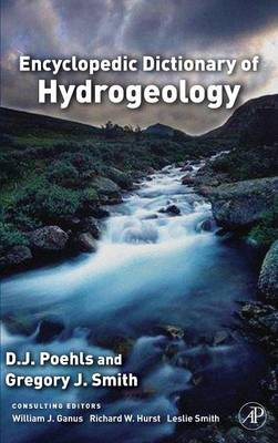 Encyclopedic Dictionary of Hydrogeology (BOK)