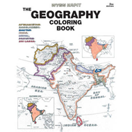 Geography Coloring Book (BOK)