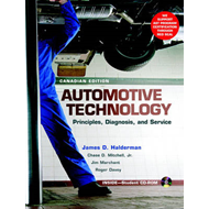Automotive Technology: Principles, Diagnosis and Service (BOK)