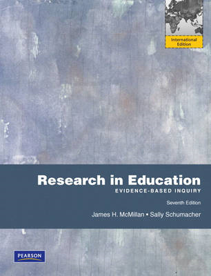 Research in Education: Evidence-Based Inquiry (BOK)