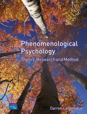 Phenomenological Psychology: Theory, Research and Method (BOK)