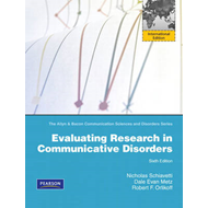 Evaluating Research in Communicative Disorders (BOK)