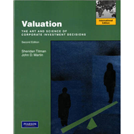 Valuation: The Art and Science of Corporate Investment Decisions (BOK)