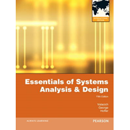 Essentials of Systems Analysis and Design: International Version (BOK)
