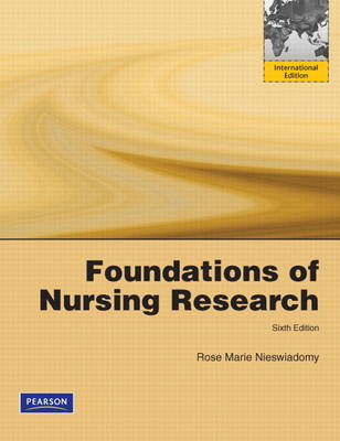 Foundations in Nursing Research (BOK)