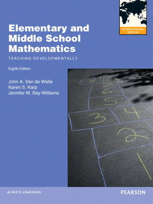 Elementary and Middle School Mathematics: Teaching Developmentally (BOK)
