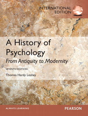A History of Psychology: From Antiquity to Modernity (BOK)