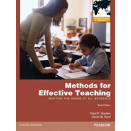 Methods for Effective Teaching: Meeting the Needs of All Students (BOK)