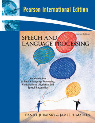 Speech and Language Processing: an Introduction to Natural Language Processing, Computational Lingui (BOK)