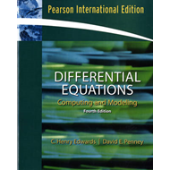 Differential Equations Computing and Modeling (BOK)