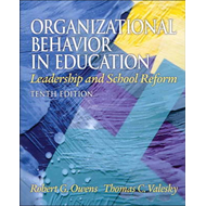 Organizational Behavior in Education: Leadership and School Reform (BOK)