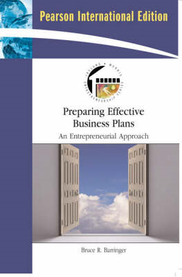 Preparing Effective Business Plans: An Entrepreneurial Approach (BOK)