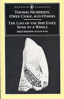 "The Loss of the Ship ""Essex"" Sunk by a Whale (BOK)"