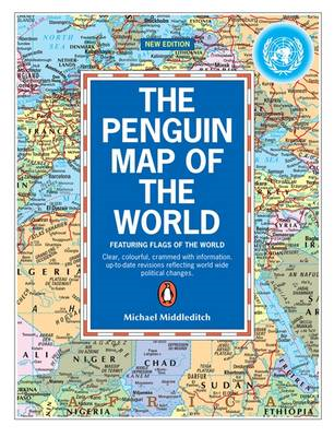 Penguin Map of the World (BOK)
