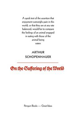 On the Suffering of the World (BOK)